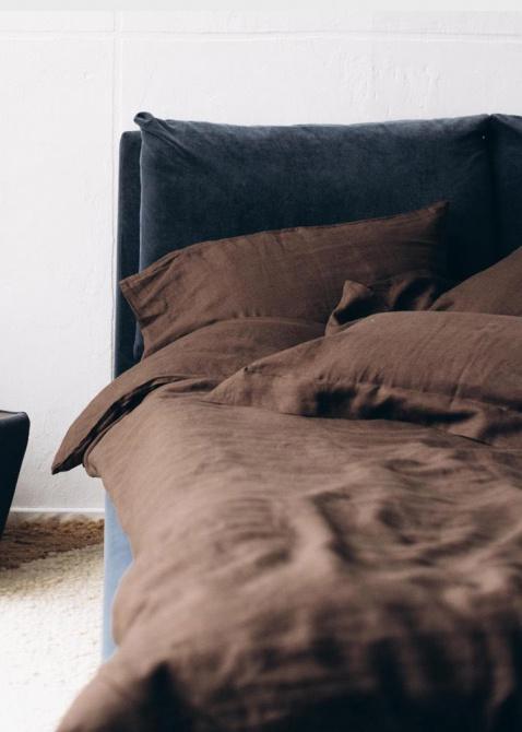 Двуспальный комплект постельного белья Home me Горячий шоколад, фото