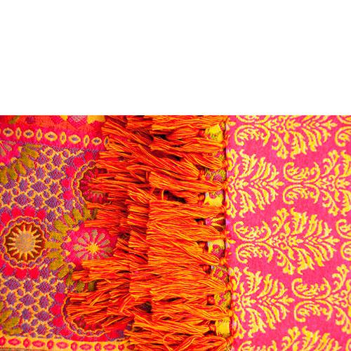 Плед Shingora с пестрыми орнаментами, фото