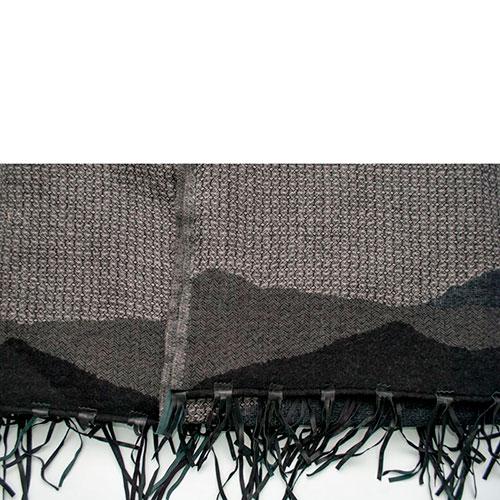 Шерстяной плед Shingora с кистями, фото