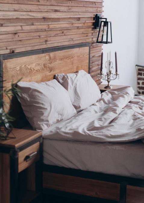 Однотонный комплект постельного белья Home me Трепет чувств, фото