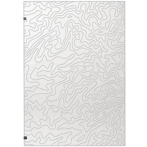 Плед Woolkrafts APEX двухсторонний с абстрактным рисунком, фото