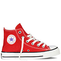 Кеды Converse Chuck Taylor All Star Hi красные, фото