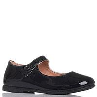 Темно-синие туфли Naturino из лаковой кожи, фото