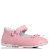 Туфли с бантиком Naturino розового цвета, фото