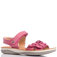 Босоножки на липучках Naturino розового цвета, фото