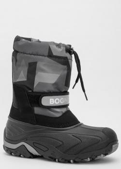 Детские зимние ботинки Bogner Bormio на меху, фото