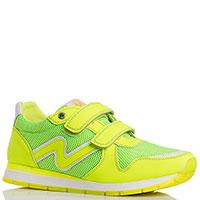 Яркие кроссовки Naturino салатового цвета, фото