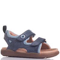 Синие сандалии Naturino на липучках, фото