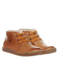 Ботинки на шнуровке из кожи коричневого цвета Falcotto с подпалами, фото