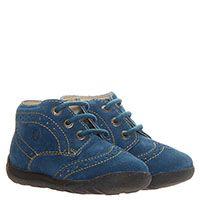 Замшевые ботинки с перфорацией Falcotto голубого цвета, фото
