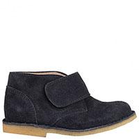 Замшевые ботинки Gallucci на широкой липучке, фото