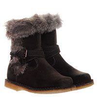 Замшевые ботинки на меху коричневого цвета Gallucci, фото