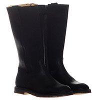 Замшевые сапоги черного цвета Gallucci, фото