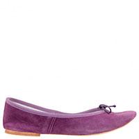 Фиолетовые балетки Gallucci с бантиками, фото