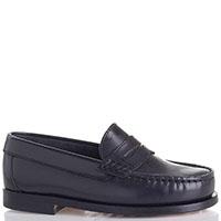 Туфли Gallucci из кожи синего цвета, фото