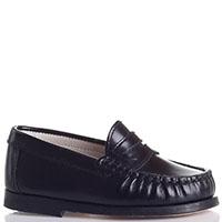 Черные кожаные туфли Gallucci, фото