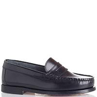 Туфли из черной кожи Gallucci, фото