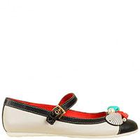 Кожаные туфли Moschino с морскими мотивами, фото
