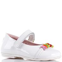 Лаковые туфли Moschino белого цвета, фото