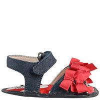 Пинетки-туфли Moschino из текстиля и кожи, фото