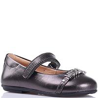 Туфли Love Moschino на ремешке с липучкой, фото