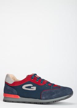 Синие кроссовки Guardiani с логотипом, фото