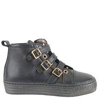 Кожаные кроссовки Naturino на высокой подошве, фото