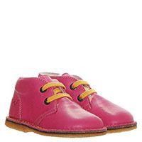 Высокие кожаные туфли розового цвета на шнуровке Naturino на меху, фото