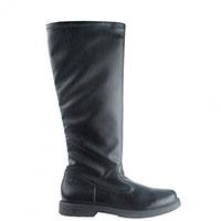 Высокие сапоги Naturino из кожи черного цвета, фото