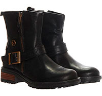 Кожаные ботинки Naturino с декоративной пряжкой, фото