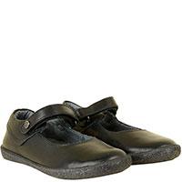 Туфли Naturino из черной кожи на липучке, фото