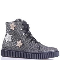 Ботинки Naturino с аппликацией в форме звезд, фото