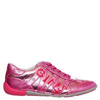 Кроссовки Primigi из кожи розового цвета, фото