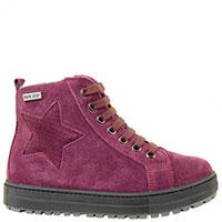 Замшевые ботинки Naturino декорированные звездой, фото