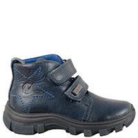 Ботинки Naturino темно-синего цвета с утеплителем, фото
