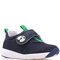 Синие кроссовки Naturino с зелеными вставками, фото