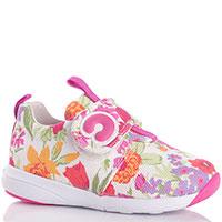Кроссовки Naturino с цветочным принтом, фото