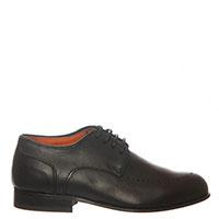 Туфли-броги Carlo Pignatelli из черной кожи, фото