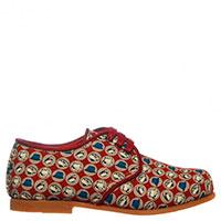Туфли из текстиля Dolce & Gabbana с принтом в виде шляп, фото