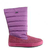 Дутые сапоги Naturino розового цвета, фото