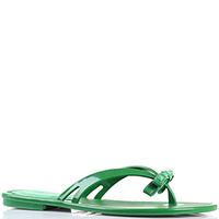 Резиновые сланцы Florens зеленого цвета, фото