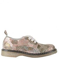 Замшевые туфли Twin-Set с блестящим напылением, фото