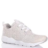 Кроссовки сетчатые Naturino с белой шнуровкой, фото