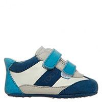 Пинетки-туфли Tods из мягкой кожи на липучках, фото