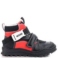 Детские ботинки Moschino с ремешком, фото