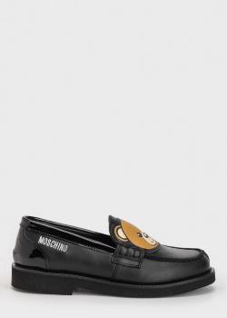 Туфли-лоферы Moschino с рисунком медведя, фото