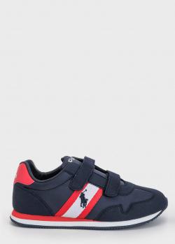 Детские кроссовки Polo Ralph Lauren на липучках, фото
