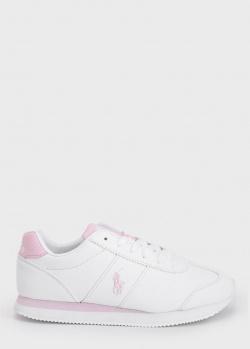 Кроссовки с логотипом Polo Ralph Lauren для девочек, фото