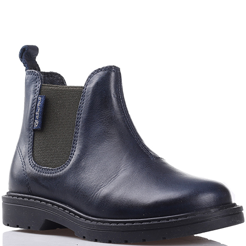 b5f3e372277c ☆ Ботинки челси Naturino из кожи синего цвета ks-4494 cerata blue ...