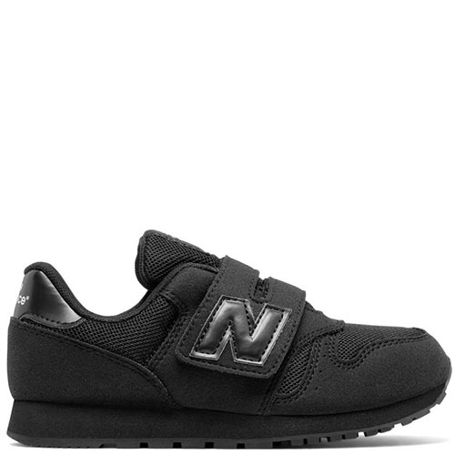 Кроссовки New Balance 373 Lifestyle черного цвета на липучках, фото